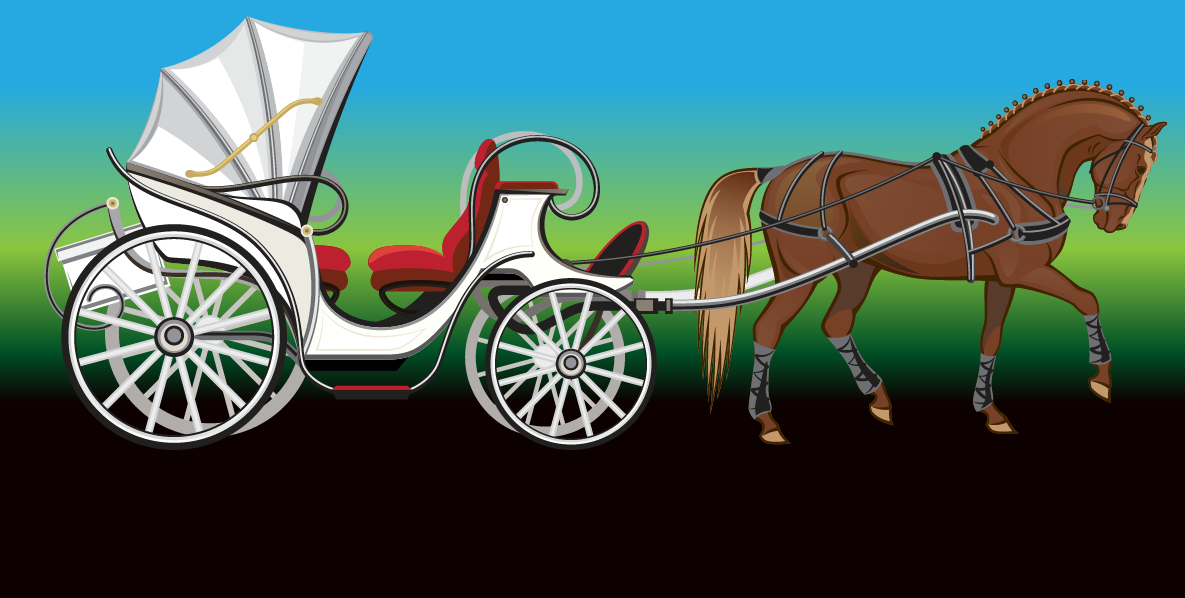Travel in Style. Private horse-drawn carriage rides at your location.